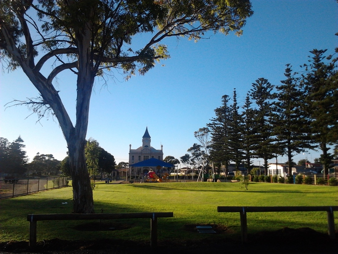 Wallaroo, playground, town hall, park, outdoors, John Tce Wallaroo