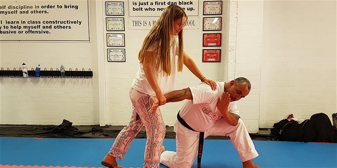 self Defence for women
