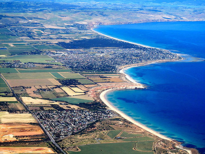adelaide what you need to know before you move to sa south australia ariel shot