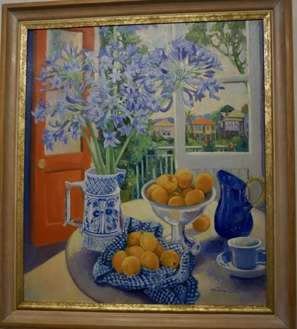 Agapanthus and Apricots