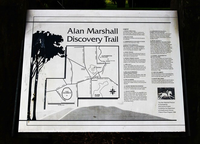 Alan Marshall discovery trail