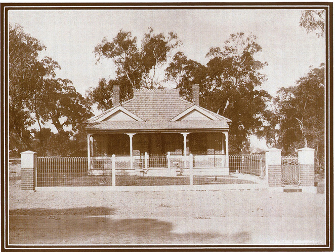 ANZAC Cottage in 1916, ready for John Porter and his family