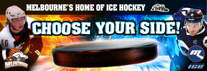 Australian Ice Hockey League, AIHL, Icehouse, Medibank Icehouse, Melbourne Mustangs, Melbourne Ice
