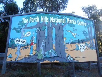 Follow the sign to the Perth Hills Discovery Centre!