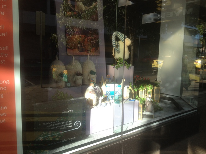 Russell the Sheep, Myer Geelong Christmas Windows