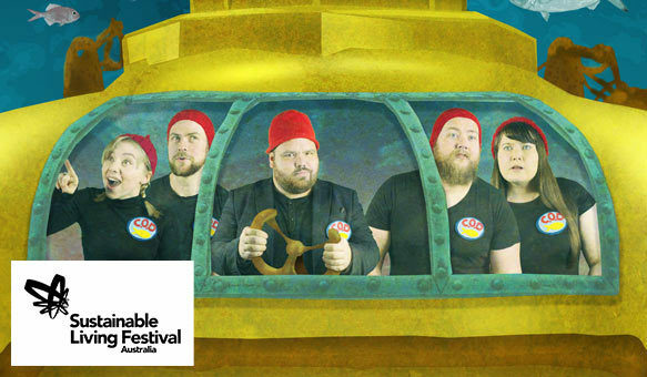 comedy, musical, cabaret, performance, sustainable living festival, show, theatre