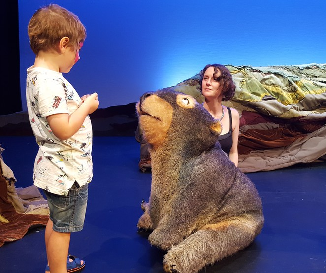 Diary of a Wombat, wombat, Diary of a Wombat play, Diary of a Wombat theatre, Monkey Baa Theatre Company, Lendlease Darling Quarter Theatre, national theatre tour, children's classic. kids' theatre, theatre for young people, stage adaptation, childrens book, Jackie French, Bruce Whatley, Eva Di Cesare