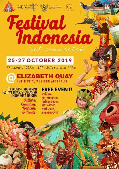 festival indonesia perth 2019, cultural event, indonesian festival, indonesian cuisines, trade and tourism exhibition, cultural workshop, stage performances, community event, fun things to do, cultural event