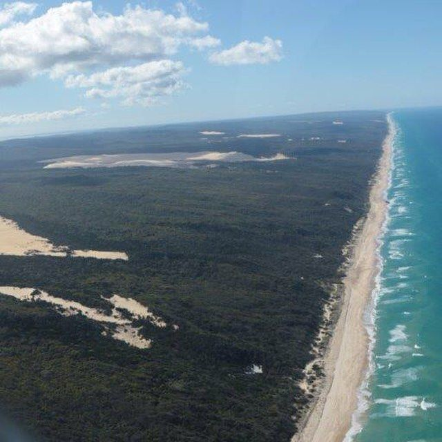 fraser island, 75 mile beach, queensland