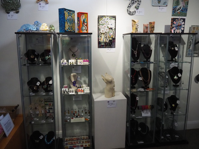 Gift shop, Fire Station Gallery,
