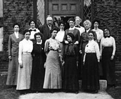 'Harvard Computers' Edward Pickering's female assistants (pic Wikipedia)