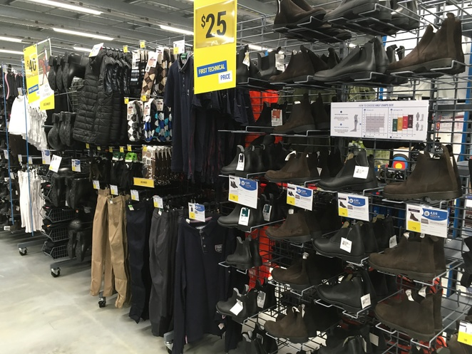 Horse riding gear at Decathlon. Image by Jade Jackson Photography.