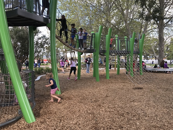 jungle park, whiteman edge playgrounds, playgrounds in brabham, new paygrounds in perth, jungle park location