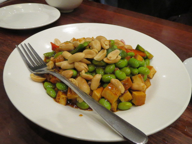 Ky Chow Restaurant, Vegetarian Kung Po, Adelaide