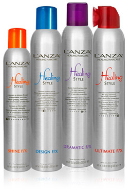 lanza, hair, hair products, salon, finish range, salon products, hair care, american brand, lanza healing hair care australia