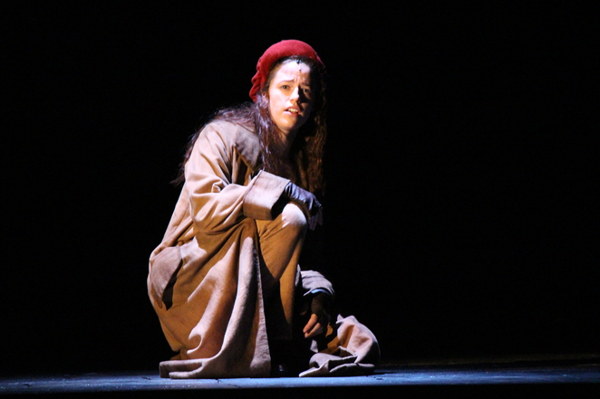 Les Miserables' Eponine played by Kerrie Anne Greenland (photo by Adrian Kmita)