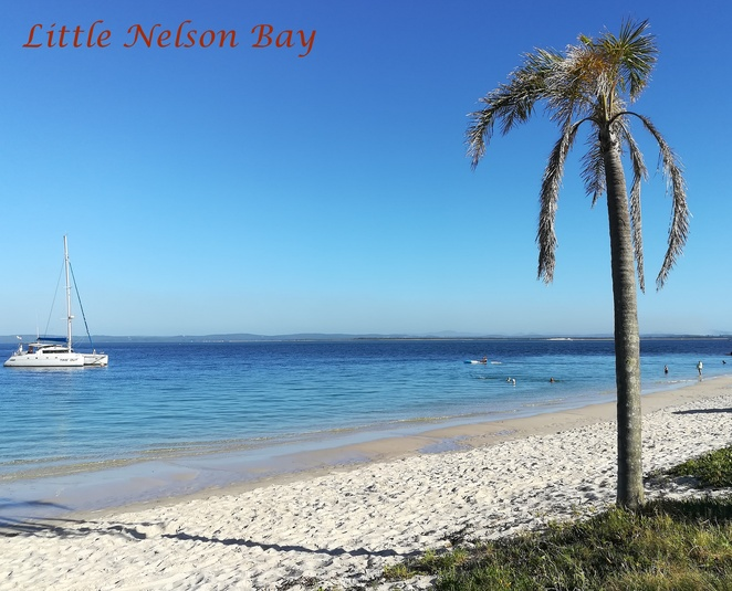 little nelson bay, nelson bay, beach, bay, port stephens, NSW, day trips from newcastle, road trips, NSW,