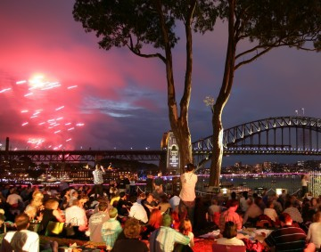 Image New Year Eve Sydney Website Bennelong Lawn Royal Botanic Gardens