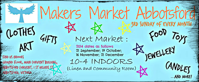 makers market, makers market abbotsford, abbotsford, abbotsford convent, st helier street, market, face painting