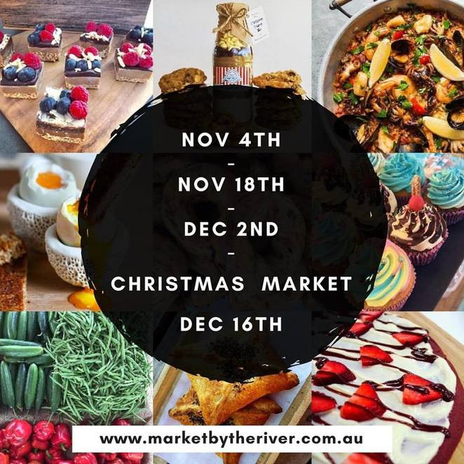 market by the river, ermington markerts, christmas markets, artisan markets, parramatta markets