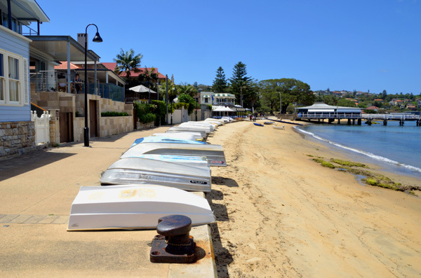 New South Wales NSW Sydney Harbour Watsons Bay Camp Cove Beach Beaches Doyles Seafood Clifftop Walk