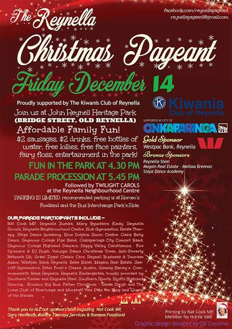 Old Reynella Christmas pageant 14 December