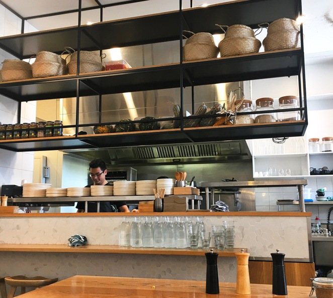open kitchen, cafe, Sydney, coffee
