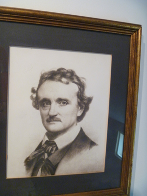 Edgar Allan Poe Cottage Bronx Portrait