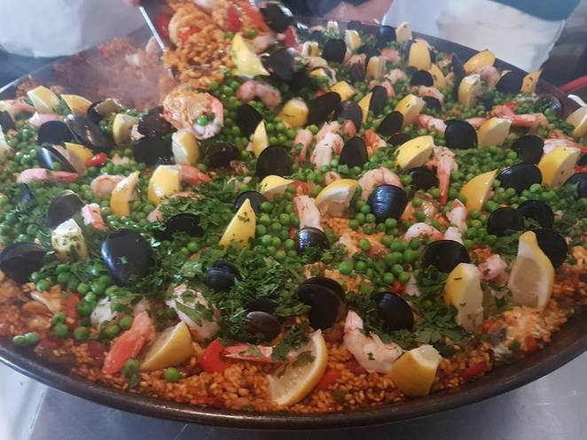 paella cooking class, cooking classes hunter valley, verandah restaurant hunter valley, hunter valley wineries