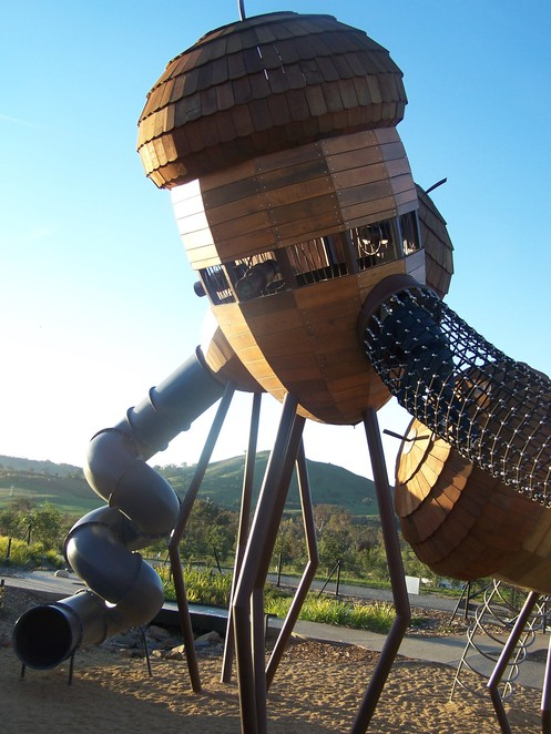 pod playground, canberra, national arboretum, ACT, best parks, best playgrounds,