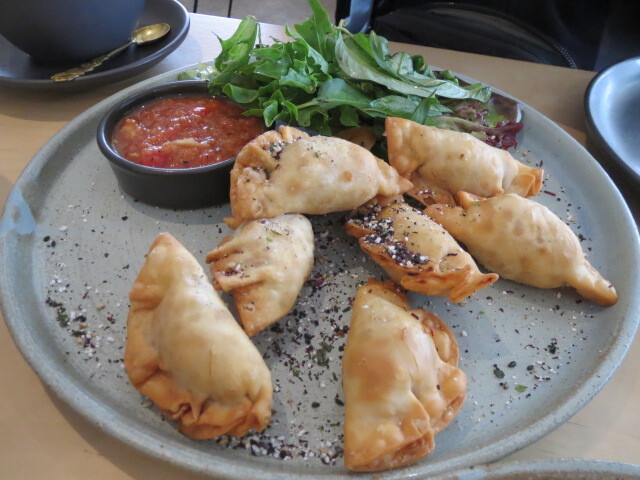 Pony and Cole Cafe, Breakfast Pot Stickers, Adelaide