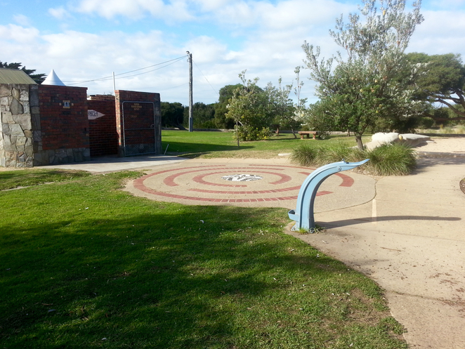 Princess Park, Queenscliffe, Bellarine, Parks, Picnic Spots, Playgrounds, near Geelong, fun for kids, spots for kids, Water fountain, mosaic,