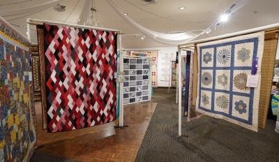 Quilters,display