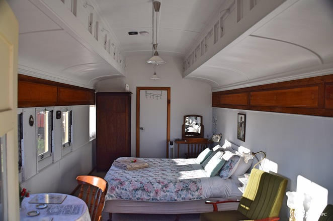 Off the rails accommodation, off the rails bed and breakfast, peterborough, willangi bush escapes, antoinette sleep, peterborough heritage trail, steamtown