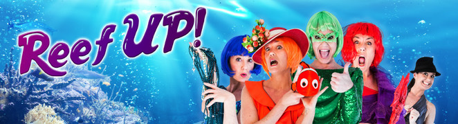 reef up, canberra theatre centre, ACT, school holidays, spring, september, 2017, october,