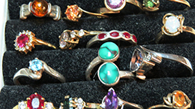 rings, jewellery, Gem Show