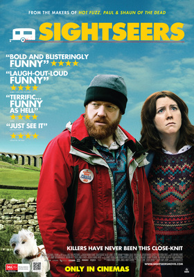 Sightseers Poster, courtesy of Rialto Distribution.