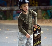 Skateboarding, clinics, competition, Easter Holidays