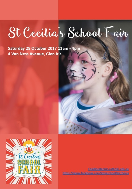st cecilia's school fair 2017, glen iris, community event, family fun, fun things to do, fun for kids, annual fair, festivities, celebrations, live entertainment, gourmet food stalls, perennial stalls, mystery bottles, face painting, miss mustey's fairy floss, pirate dig, show bags, raffles, prizes, cake stall, craft, cookie jars and preserves, rides, activities, giant inflatbles, carousel merry go round, dodgem cars, fun factory
