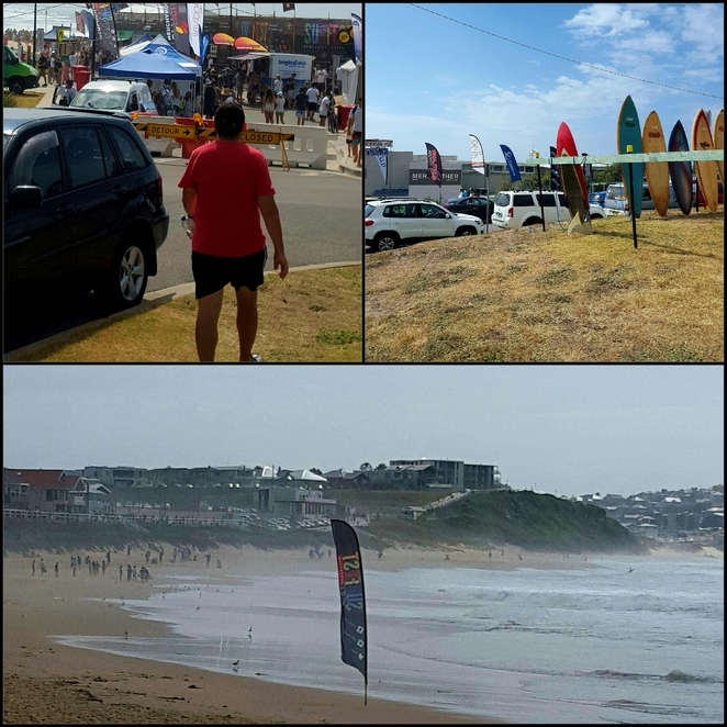 Surfing, markets, stalls, shops, competition