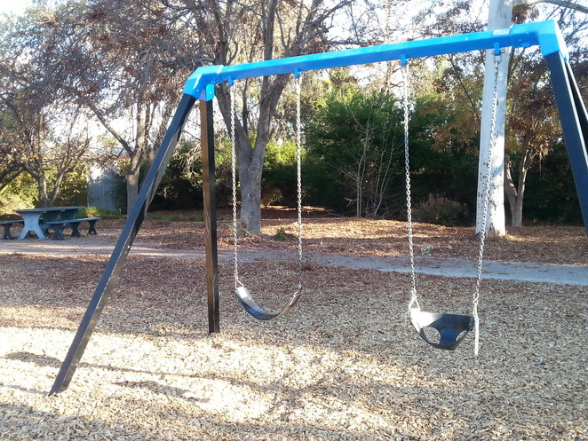 swings, playground, reserve, Hope Valley
