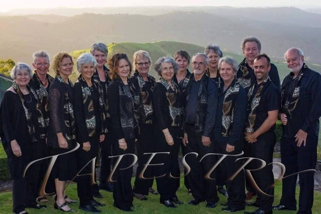 Tapestry and Friends, Maleny Choir, performing at Caloundra Regional Gallery, mixed choral ensemble