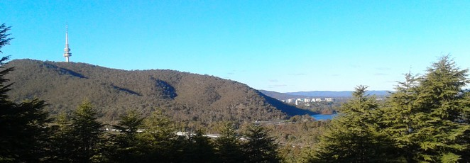 tesltra tower, canberra, lookouts, canberra tracks, track 3, looking at canberra, scenic views, views,