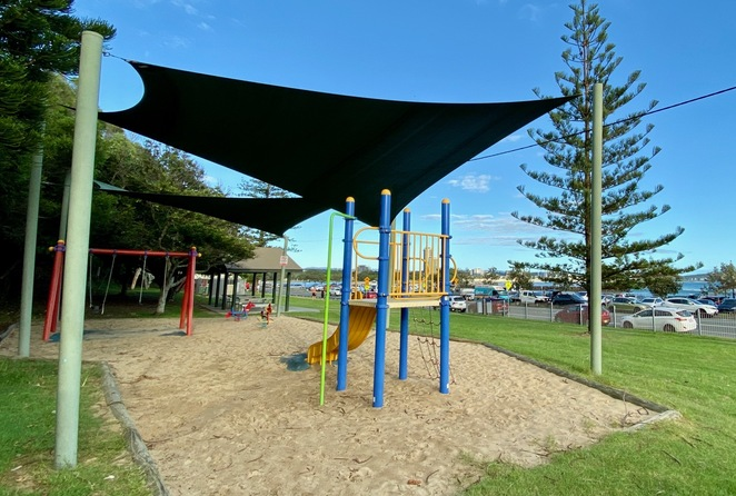 Wallace Nicoll Park at Currumbin is great for kids