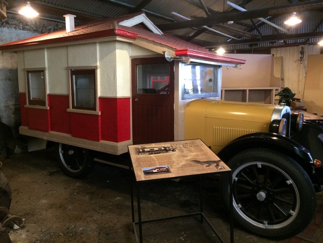 Was this Australia's first motor home?