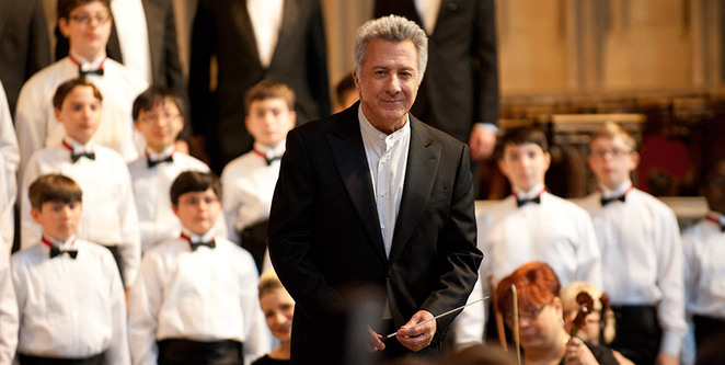 Master Carvelle played by Dustin Hoffman