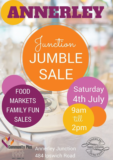 Annerley, Junction, Jumble, Sale, Market, EOFY, Bargains, Fair, Craft, Vintage, Handmade,