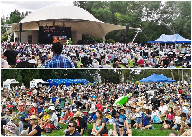 australia day, commonwealth park, canberra, 2017, ACT, canberra, events,