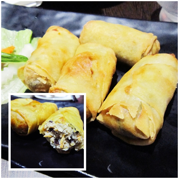 Bay Tinh Restaurant, Vietnamese restaurant, Crows Nest, Spring rolls