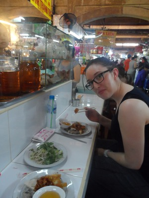 Ben Than Market, Ho Chi Minh,Shopping,Vietnamese Food